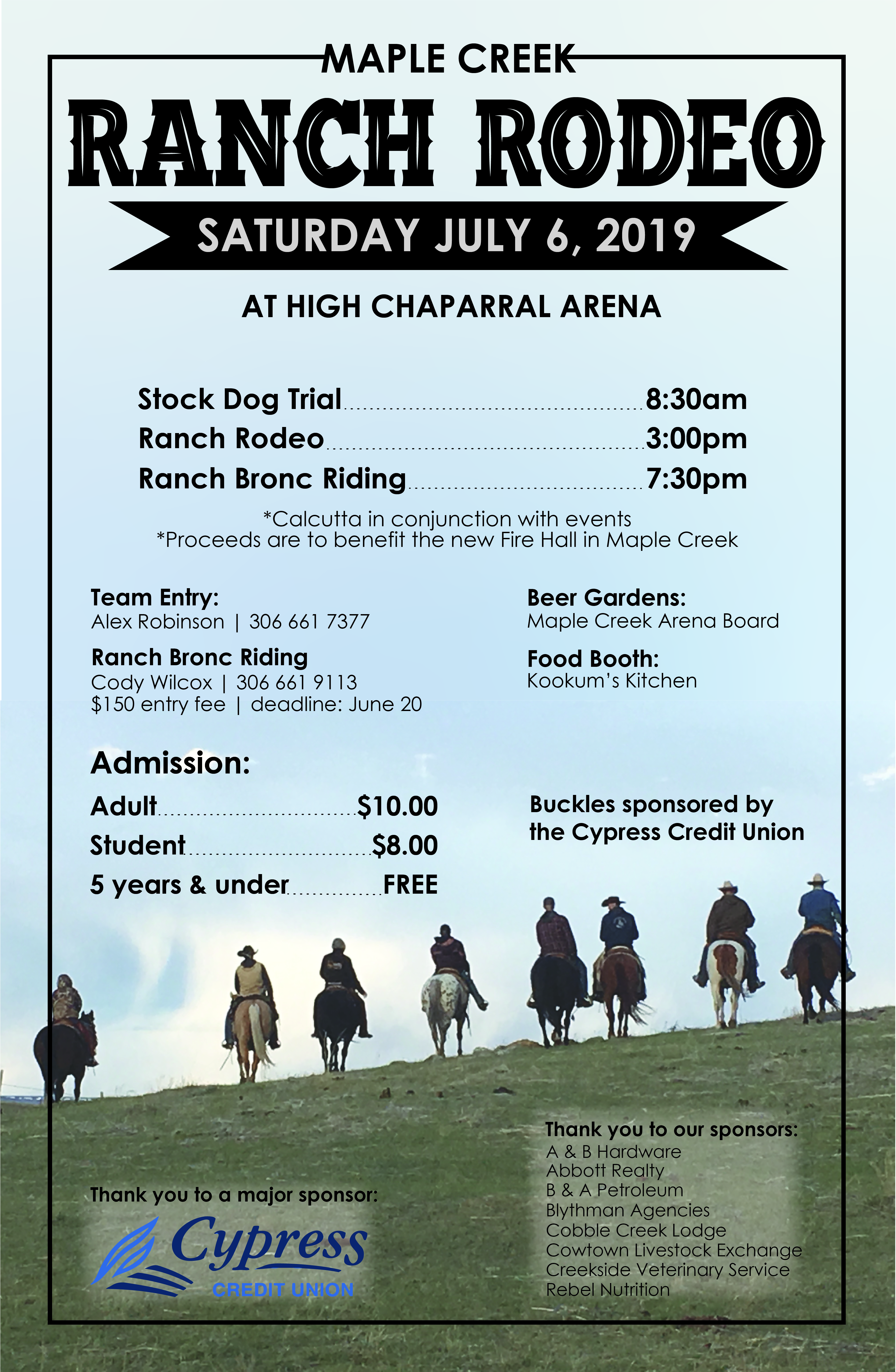 Rodeos in Maple Creek